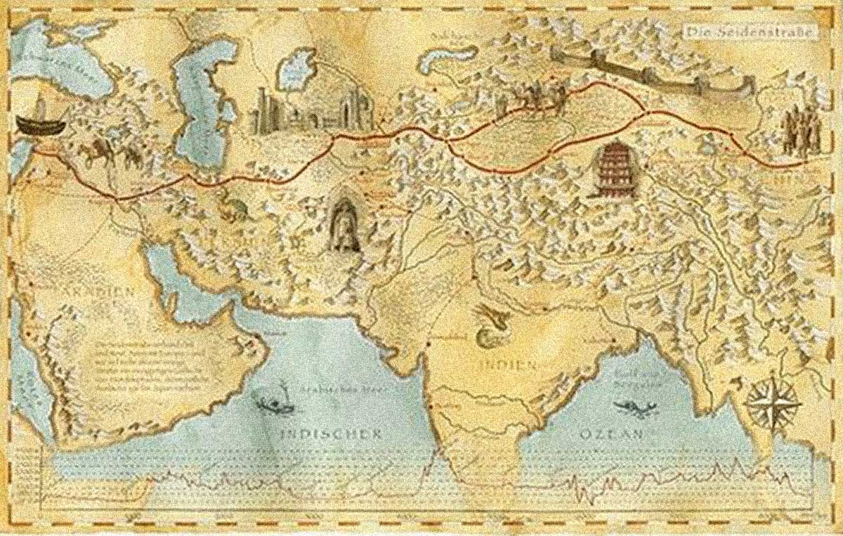 We found your personal silk road